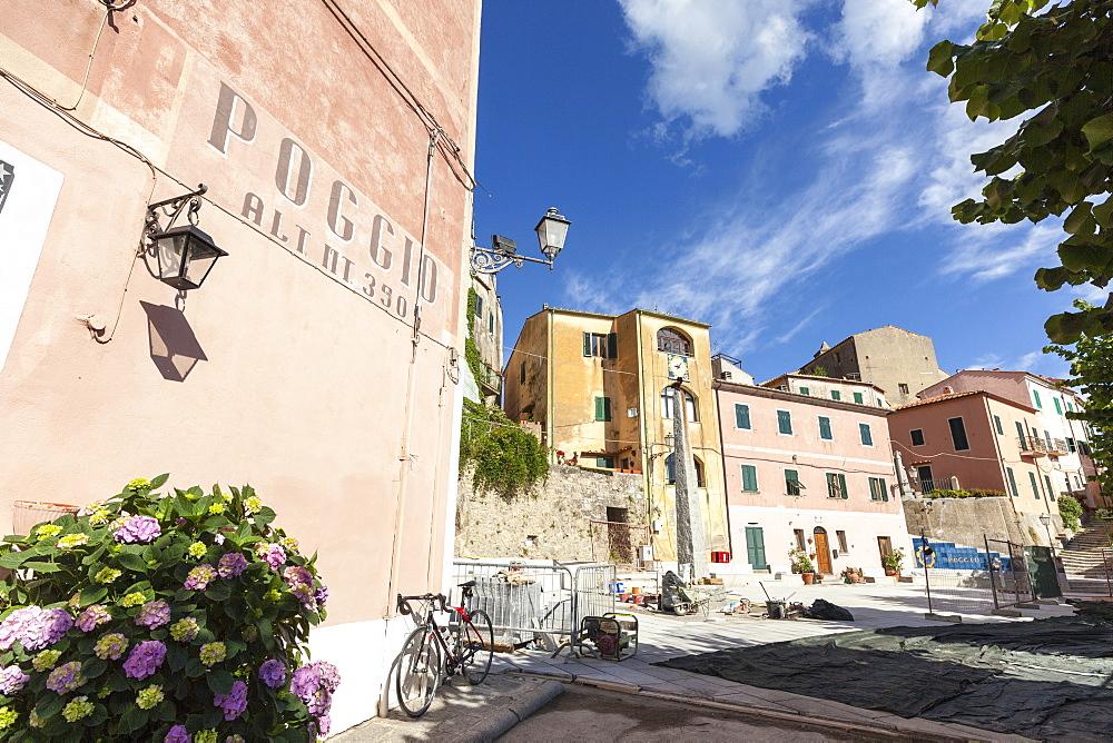 Old town of the village of Poggio, Marciana, Elba Island, Livorno Province, Tuscany, Italy - 1179-2657