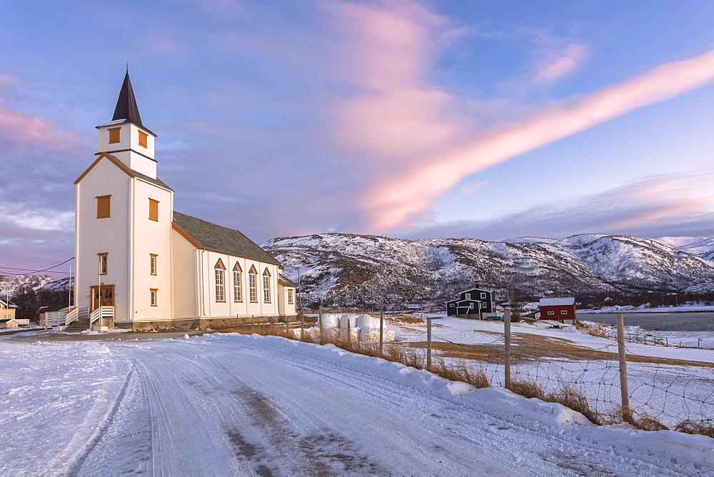 Church of Hillesoy, Brensholmen, Troms county, Norway - 1179-3232