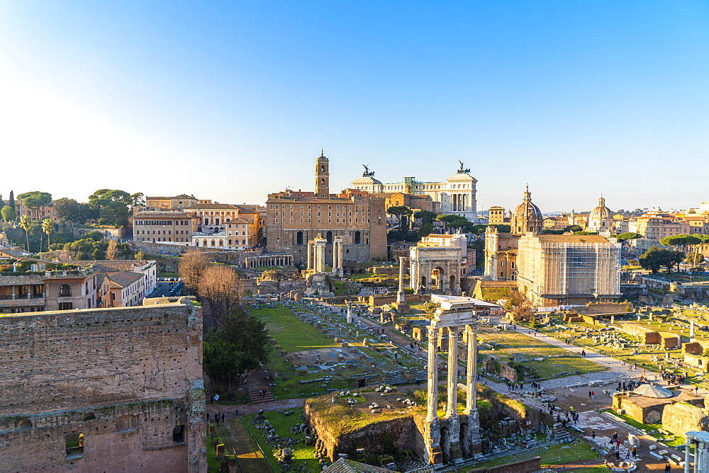 Imperial Forum (Fori Imperiali), UNESCO World Heritage Site, Rome, Lazio, Italy, Europe