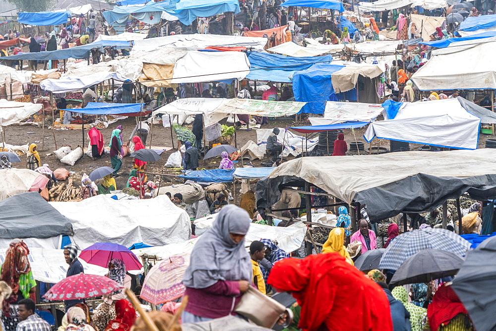 Muslim women at Bati market, Amhara Region, Oromia, Ethiopia, Africa