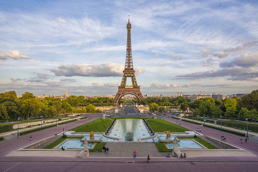 The Eiffel Tower, Champ de Mars, Paris, France, Europe - 1179-702
