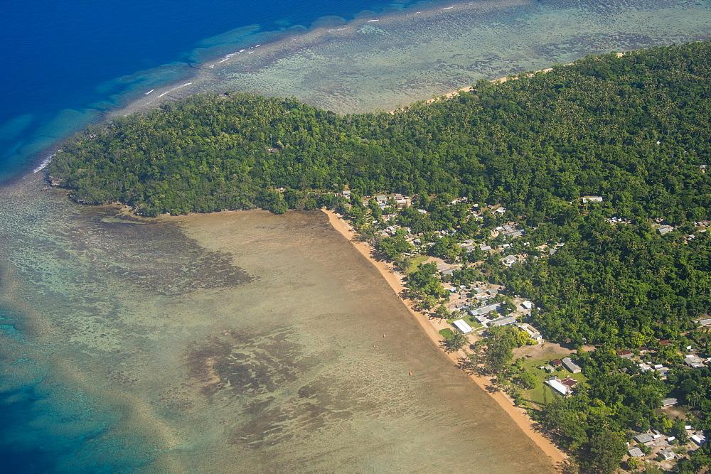 Coastline of Ambrym, Vanuatu, Pacific