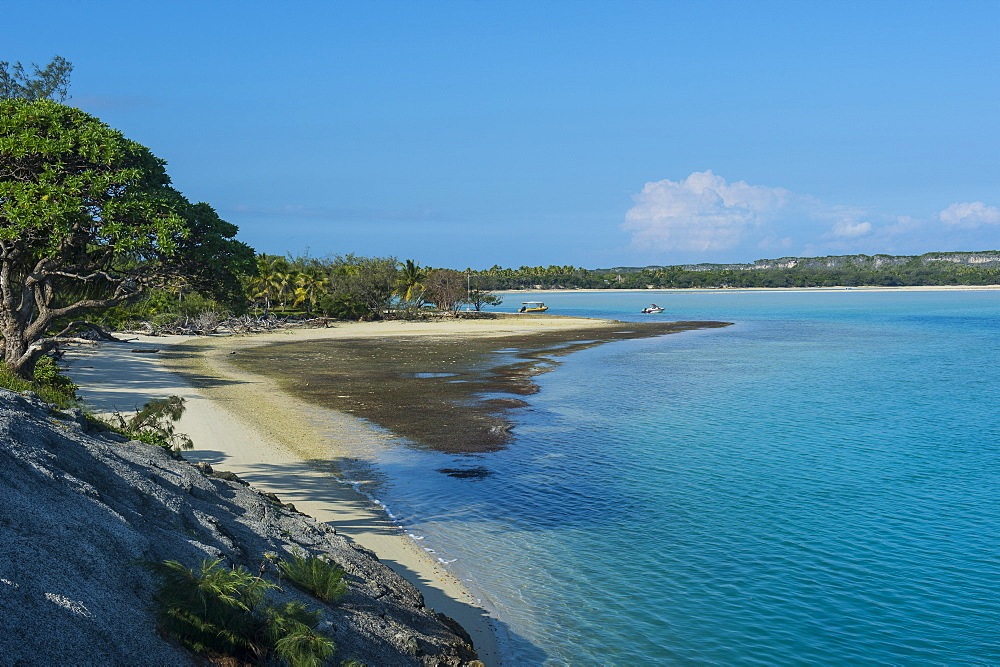 The beautiful lagoon of Ouvea, Loyalty Islands, New Caledonia