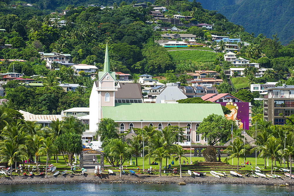 Downtown Papeete, Tahiti, French Polynesia