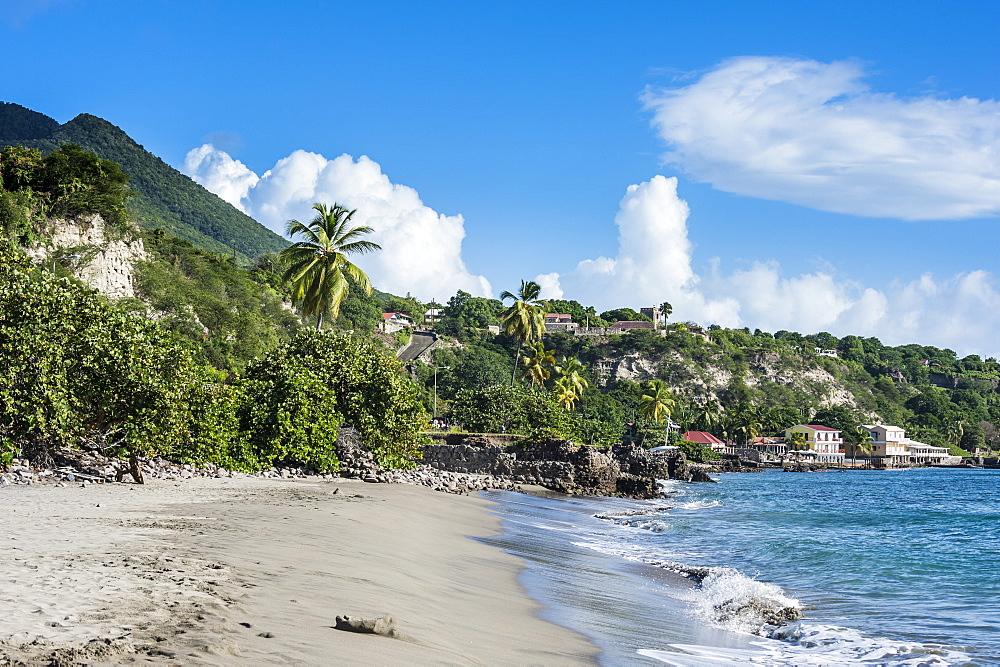 Oranjestad beach, St. Eustatius, Statia, Caribbean, Netherland Antilles - 1184-1157