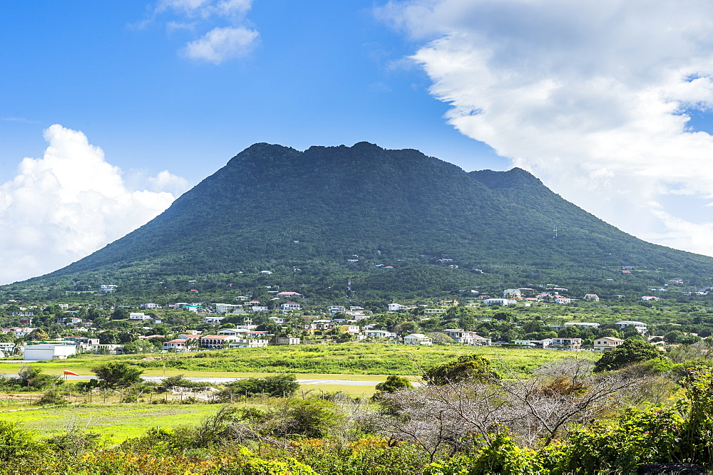 The Quill hill, St. Eustatius, Statia, Caribbean, Netherland Antilles
