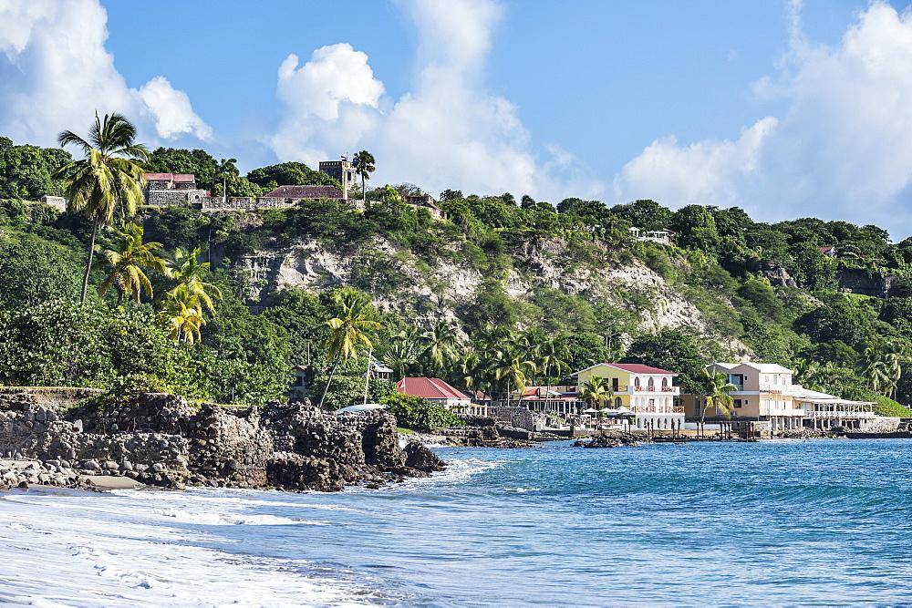 Oranjestad beach, St. Eustatius, Statia, Caribbean, Netherland Antilles - 1184-1162