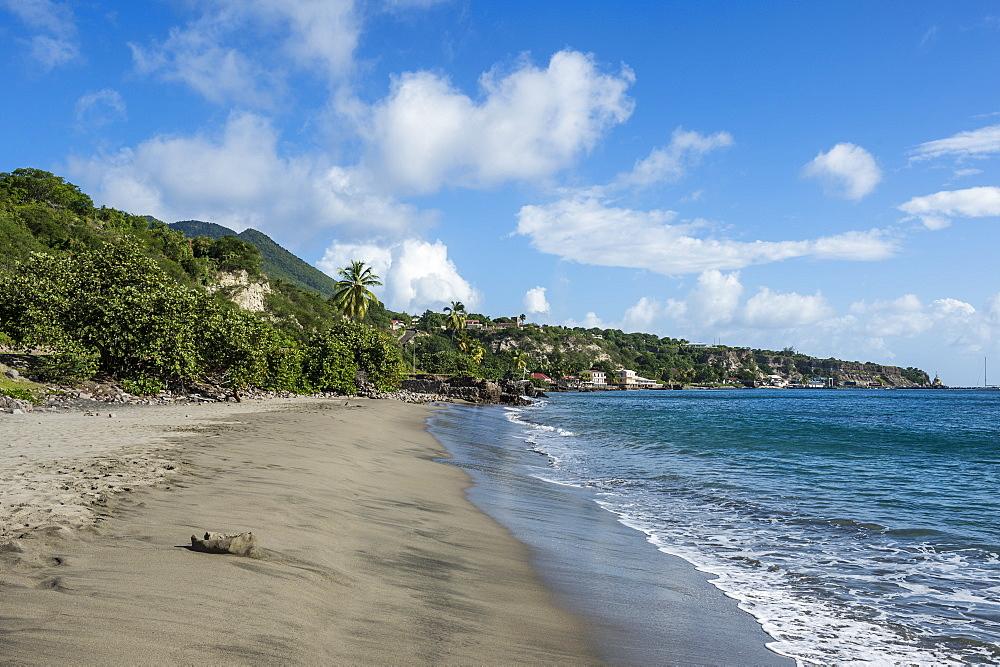 Oranjestad beach, St. Eustatius, Statia, Caribbean, Netherland Antilles - 1184-1166