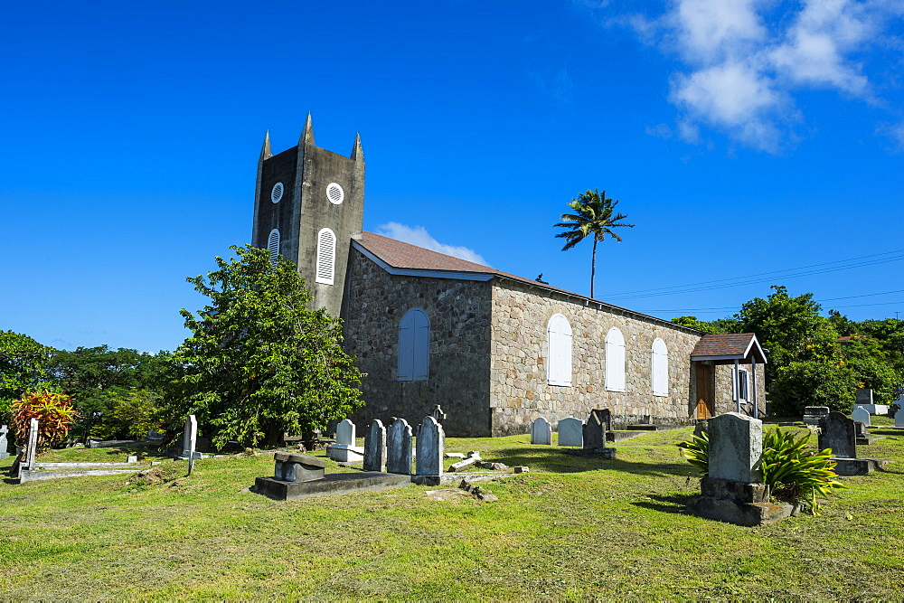 St. Peter's Anglican church, Montserrat, British Overseas Territory, West Indies, Caribbean, Central America