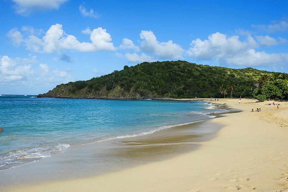 Happy Bay Beach, St. Martin, French territory, West Indies, Caribbean, Central America