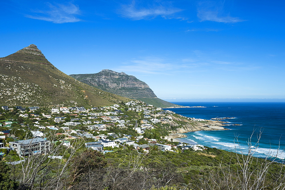 Overlook over Llandudno, Cape of good hope, South Africa