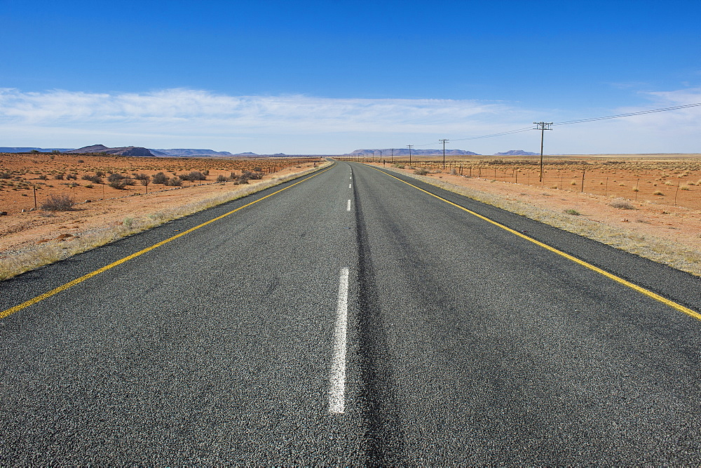 Road Number 7 leading to Namibia, South Africa