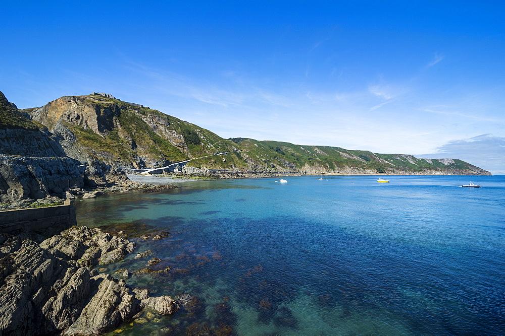 Island of Lundy, Bristol channel, Devon, England, United Kingdom