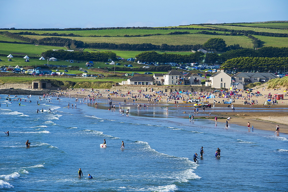 Croyde Beach, Cornwall, England, United Kingdom, Europe