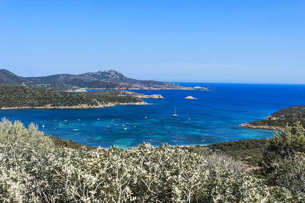 Beautiful bays in the Costa del Sud, Sardinia, Italy, Mediterranean, Europe