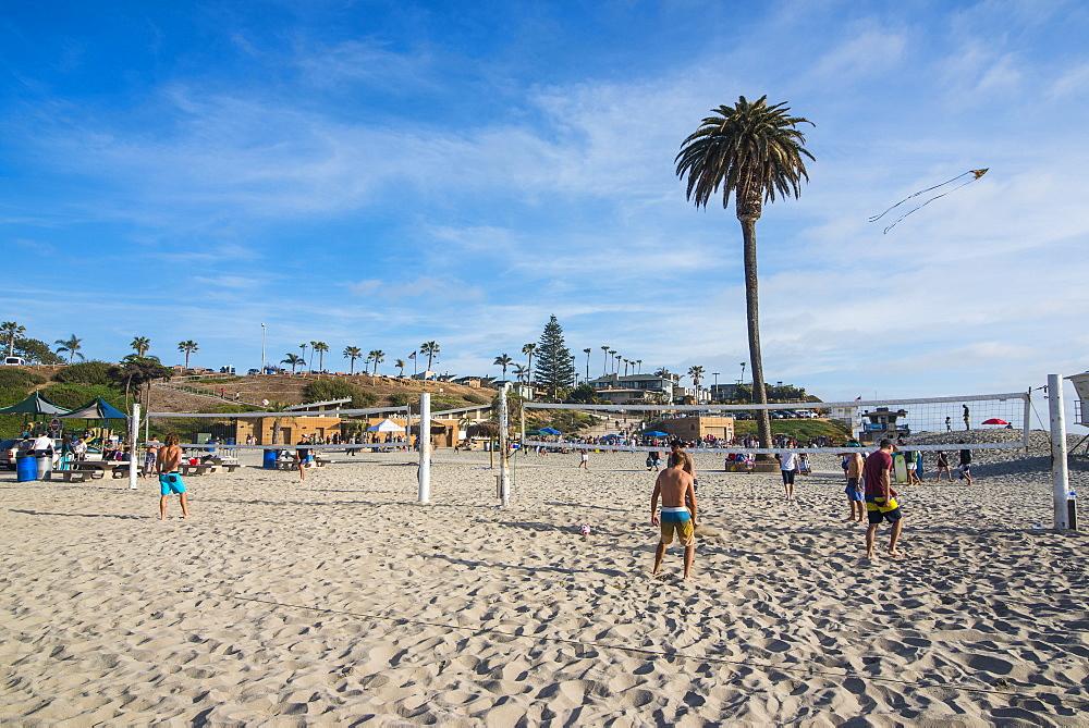 Beach of Encinitas, California, United States of America, North America