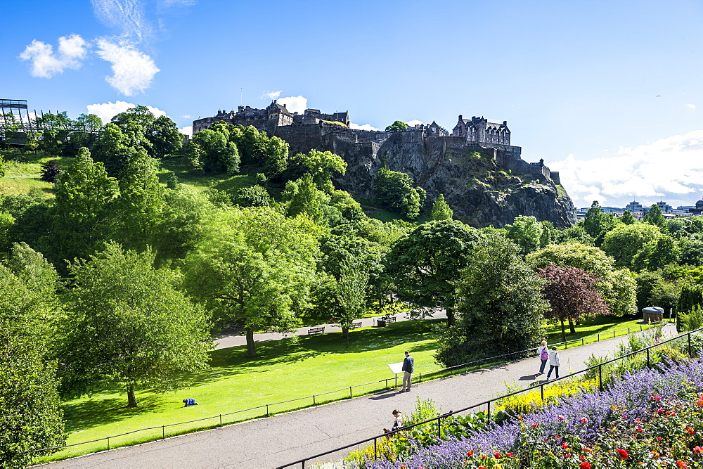The Edinburgh castle, Edinburgh, Scotland
