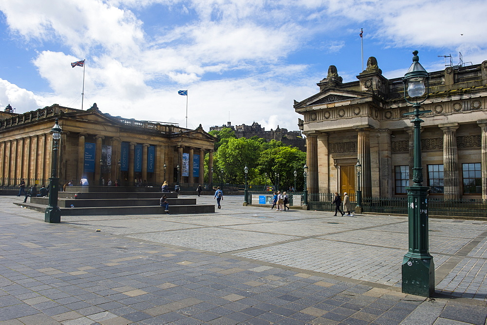 Scotish National gallery and academy, Edinburgh, Scotland