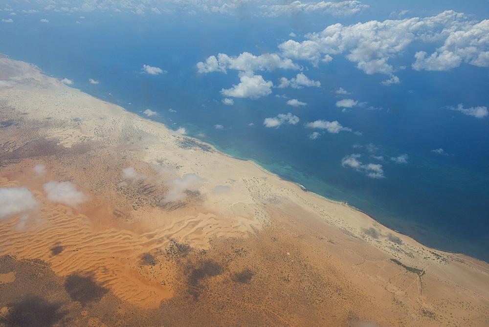 Coastline of Somalia, Africa