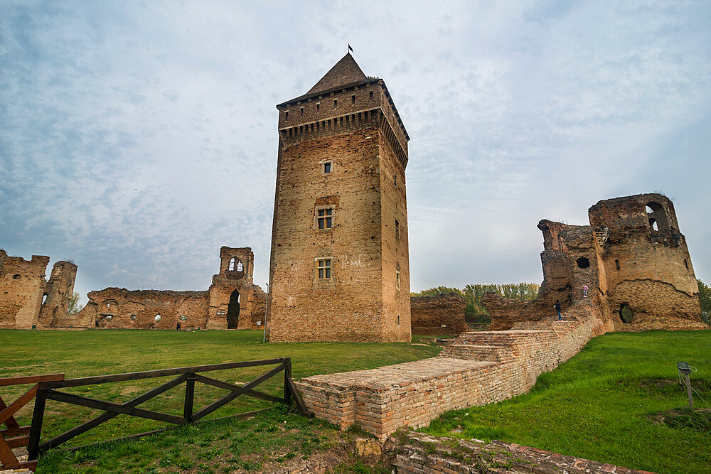 The fortress of Bac, Vojvodina, Serbia - 1184-2321