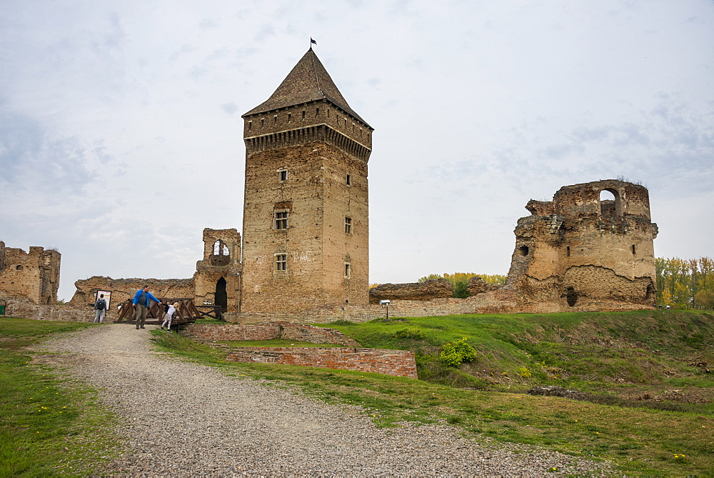 The fortress of Bac, Vojvodina, Serbia - 1184-2322