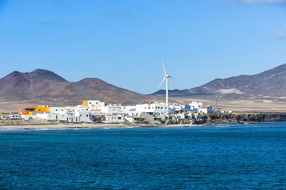 Puerto de la Cruz village in the very south, Fuerteventura, Canary islands, Spain