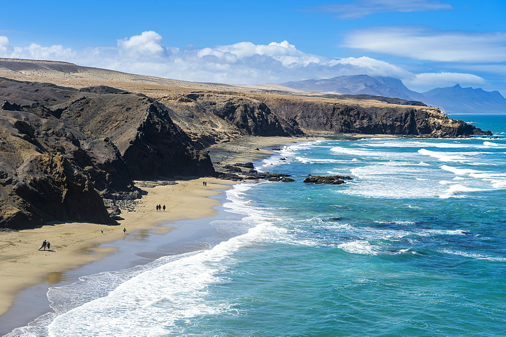 Playa del Viejo Rey, La Pared, Fuerteventura, Canary islands, Spain