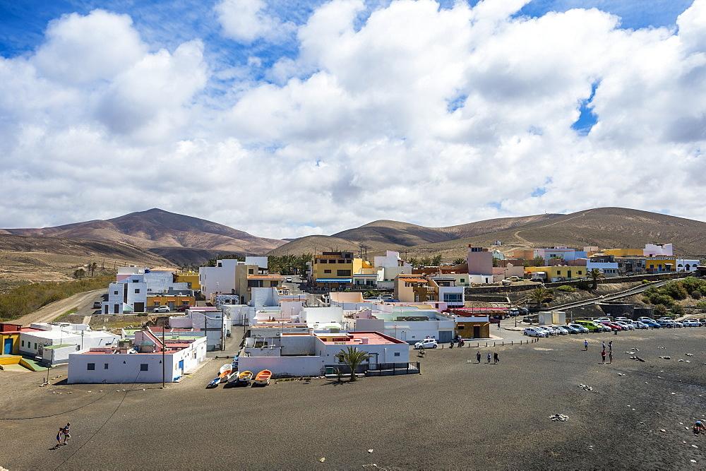 The village of Ajuy, Fuerteventura, Canary islands, Spain