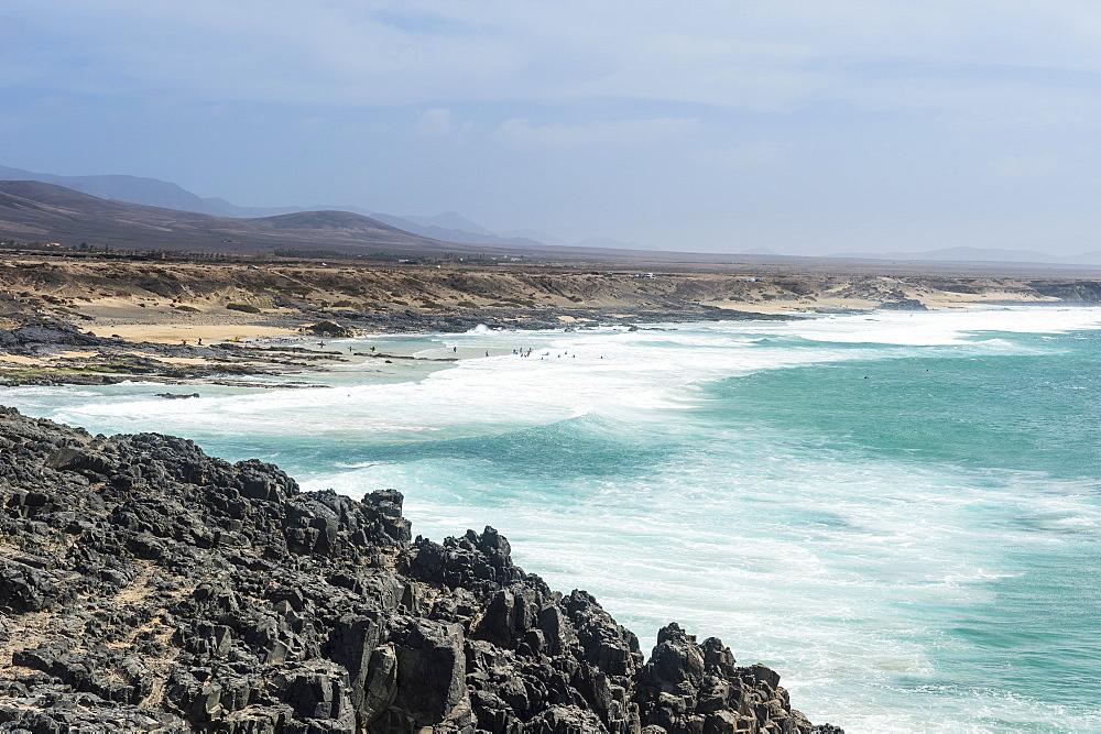 El Cotillo beach, El Cotillo, Fuerteventura, Canary islands, Spain