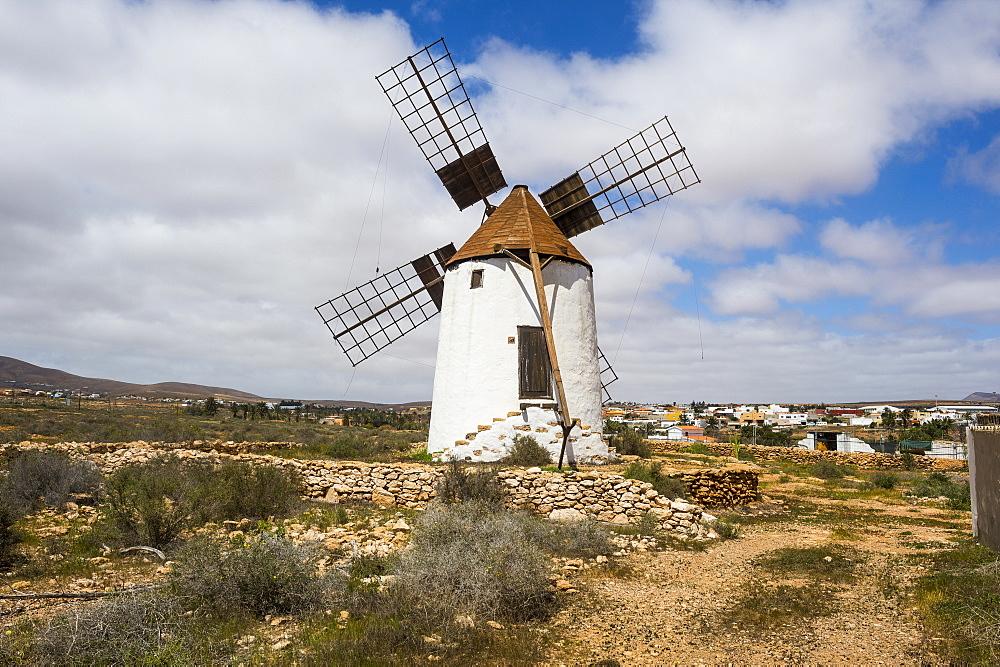 Windmill in Fuerteventura, Canary islands, Spain