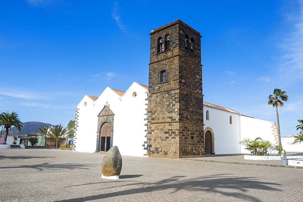 Church of Our Lady of Candelaria, La Oliva, Fuerteventura, Canary Islands, Spain, Atlantic, Europe