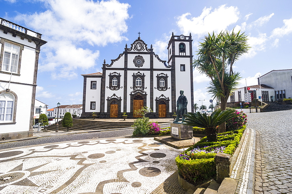 Historical buildings in Nordeste, Island of Sao Miguel, Azores, Portugal, Atlantic, Europe