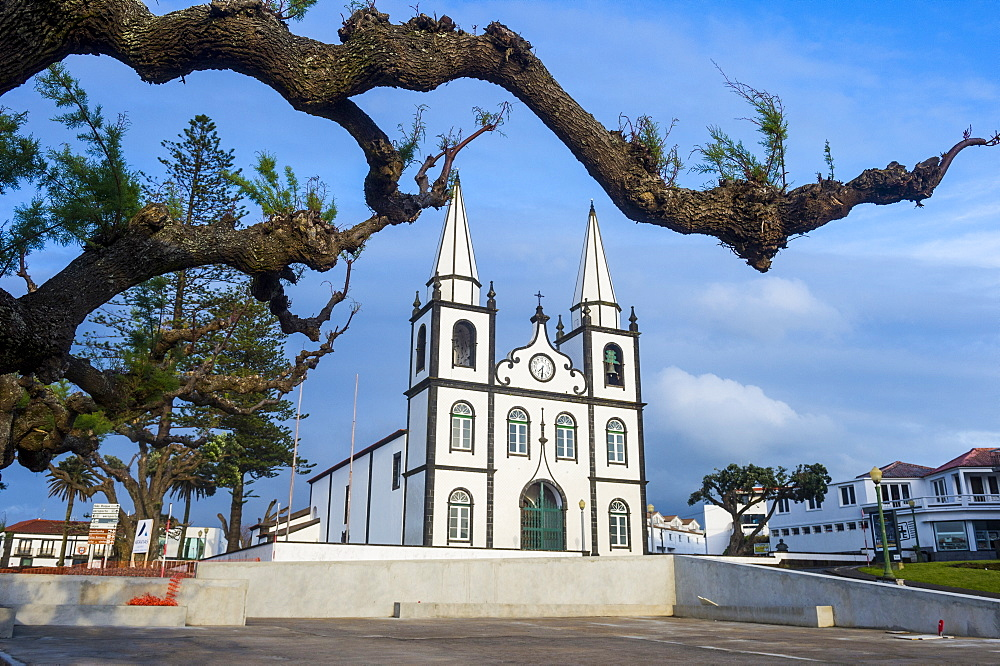 Church of Santa Maria, Island of Pico, Azores, Portugal