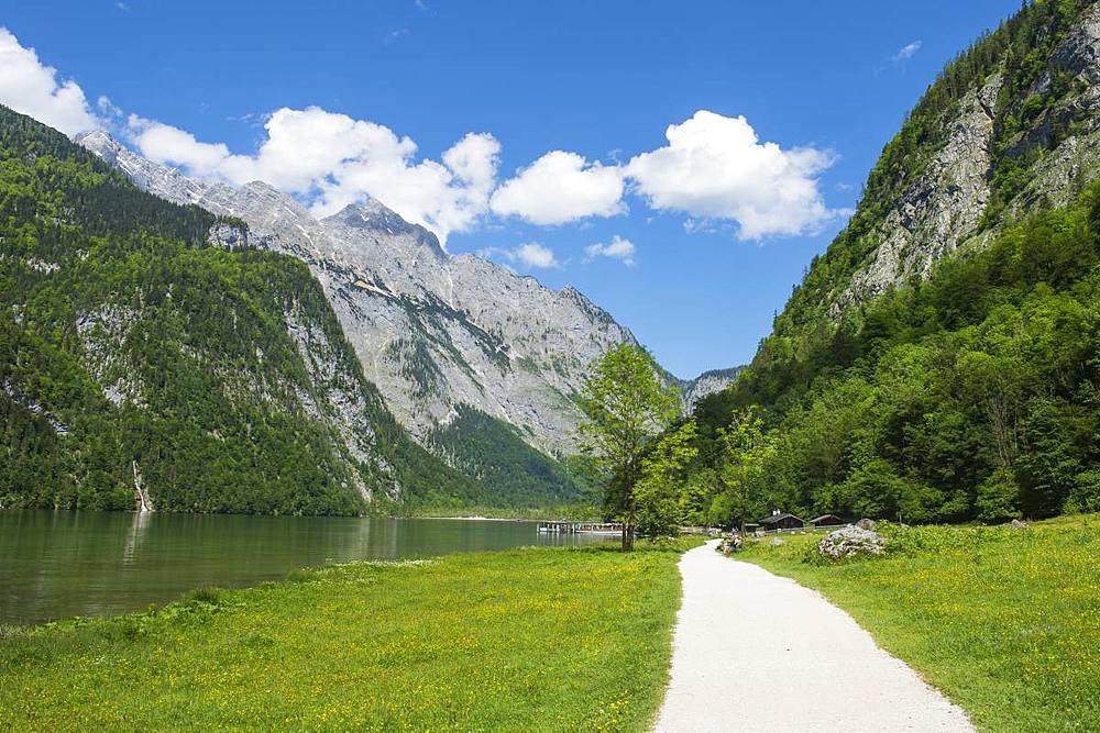 Koenigssee, Berchtesgaden, Bavaria, Germany, Europe