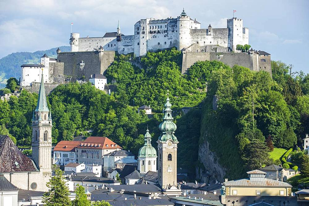 Overlook over Salzburg, Austria - 1184-2538