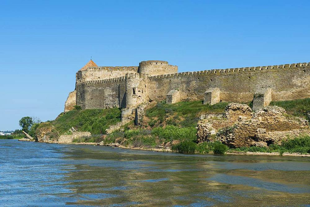 Bilhorod-Dnistrovskyi fortress formerly known as Akkerman on the Black Sea coast, Ukraine, Europe - 1184-2540