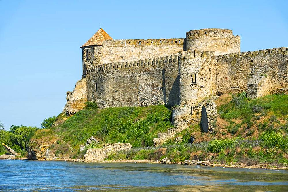 Bilhorod-Dnistrovskyi fortress formerly known as Akkerman on the Black Sea coast, Ukraine, Europe - 1184-2541