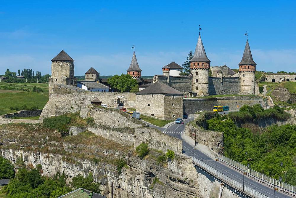 Kamianets-Podilskyi Castle, Kamianets-Podilskyi, Ukraine, Europe