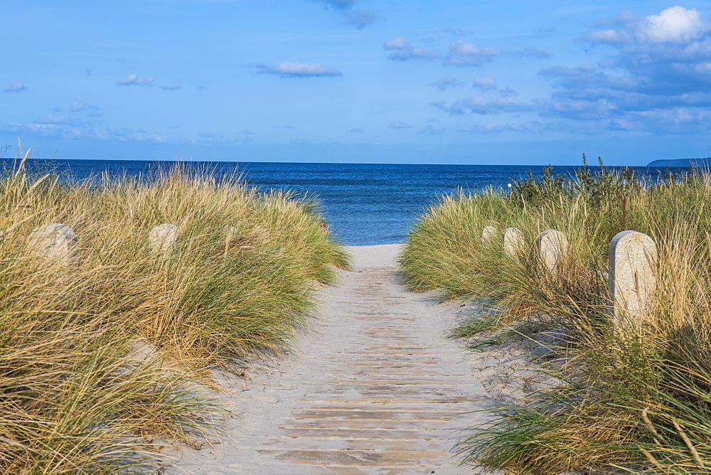 Breege beach, Rugen, Mecklenburg-Vorpommern, Germany, Europe