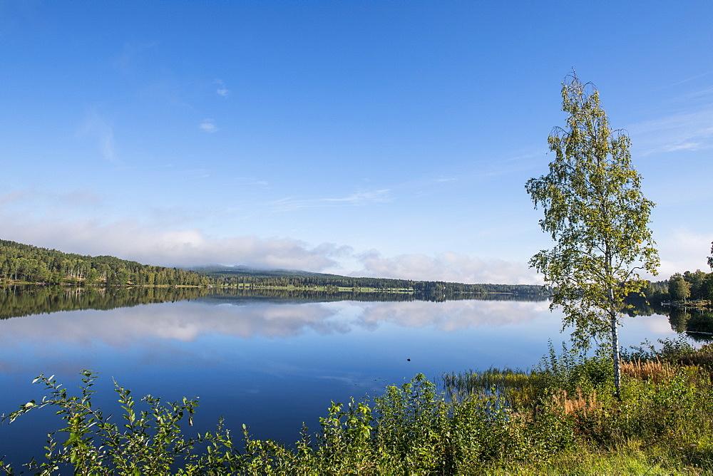 Hosjoen Lake, Falun, Sweden, Scandinavia, Europe