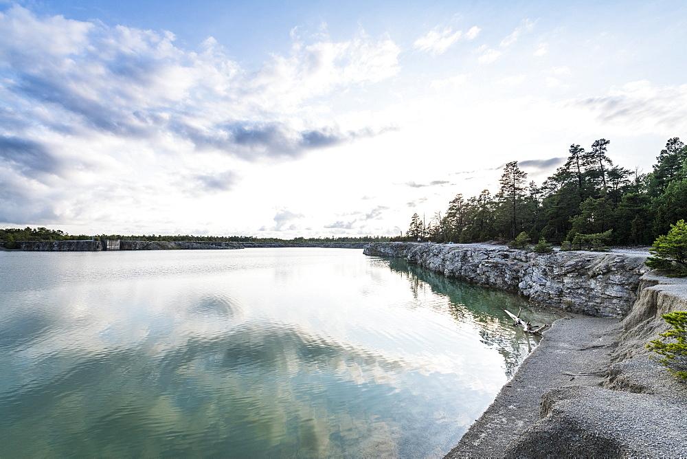 Blue lagoon, Gotland, Sweden
