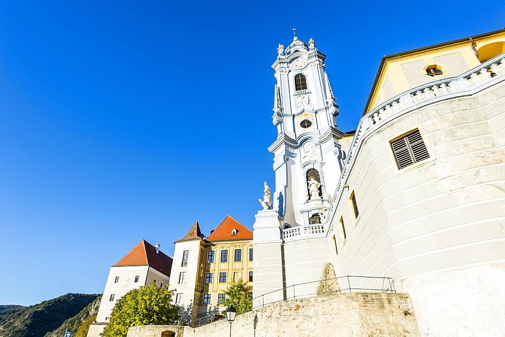 Former monastery in Durnstein, Wachau, UNESCO World Heritage Site, Austria, Europe