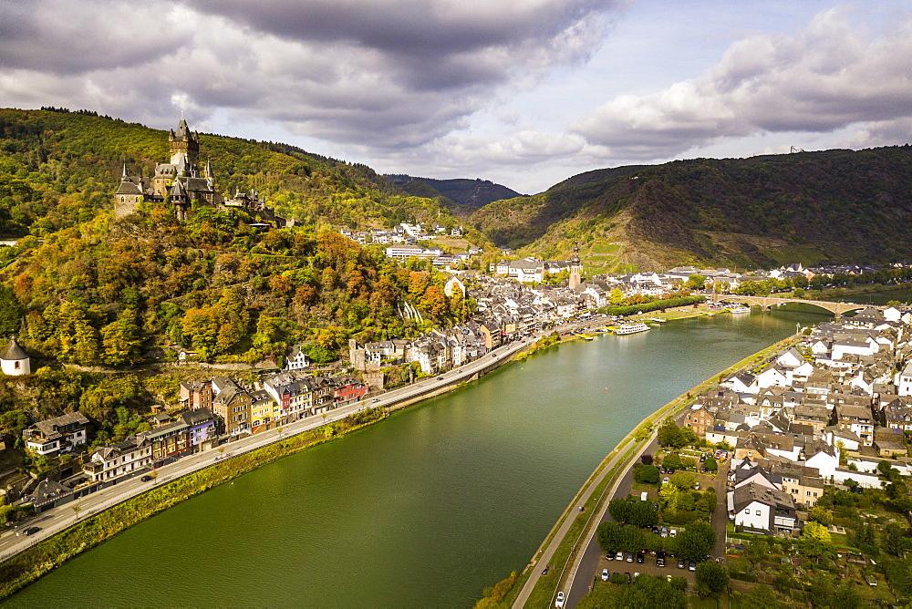 Cochem, Moselle River, Rhineland-Palatinate, Germany, Europe