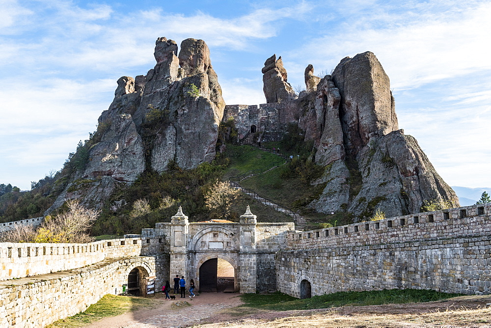Kaleto Rock Fortress, rock formations, Belogradchik, Bulgaria, Europe