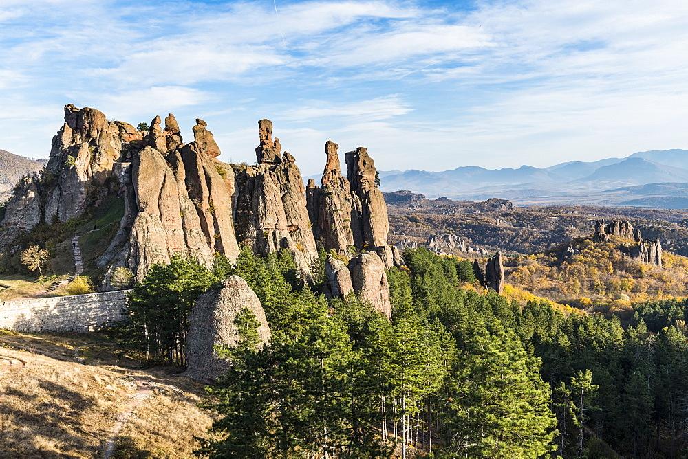 Kaleto Rock Fortress, rock formations, Belogradchik, Bulgaria