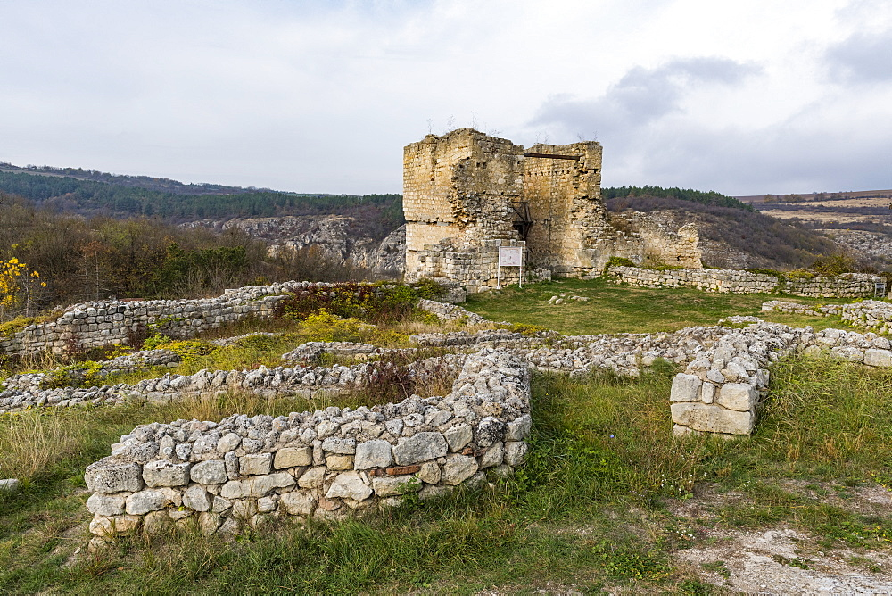 The stronghold of Cherven, Rousse, Bulgaria, Europe