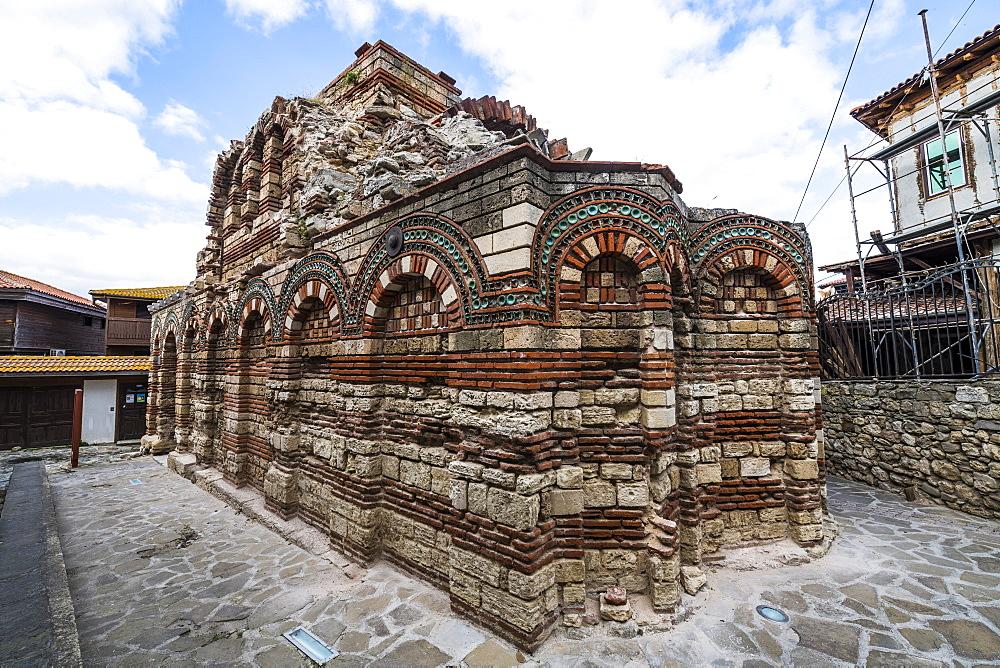 Church of St. John the Baptist , Unesco world heritage sight Nesebar, Bulgaria