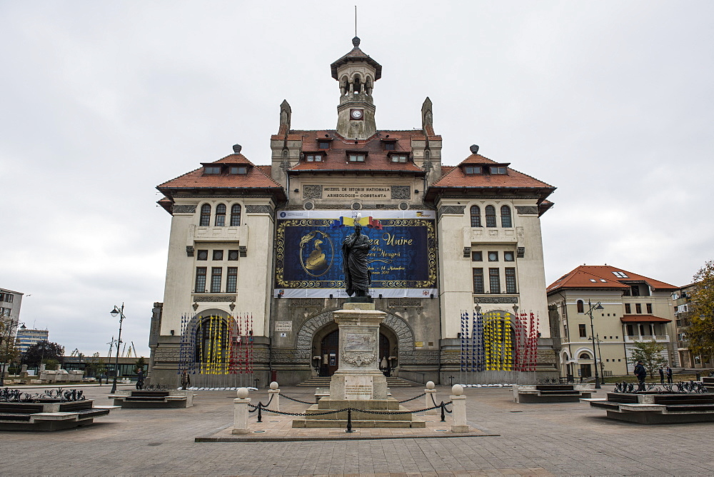 The town hall of Constanta, black sea coast, Romania