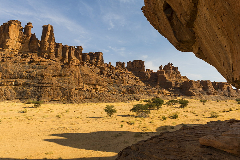 Beautiful rock formations in the Unesco world heritage, Ennedi plateau, Chad, Africa - 1184-3134