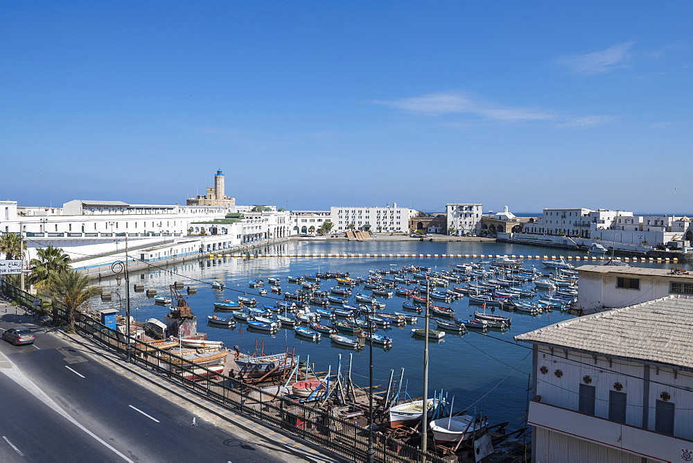 Small boat harbour, Algiers, Algeria, North Africa, Africa